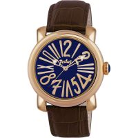 Pocket-Watch Rond Grande Herenhorloge Bruin PK3004