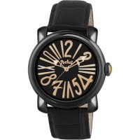 Pocket-Watch Rond Grande Herenhorloge Zwart PK3006