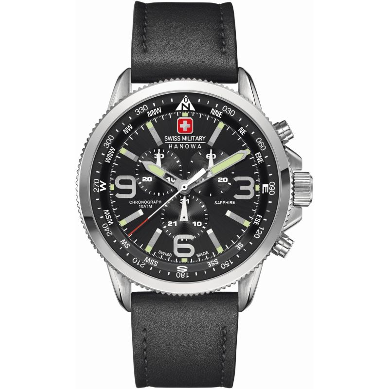 Mens Swiss Military Hanowa Arrow Chronograph Watch