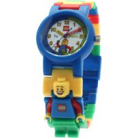 Childrens LEGO Time Teacher Blue Minifigure Link Watch