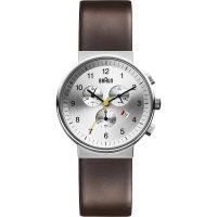 homme Braun BN0035 Classic Chronograph Watch BN0035SLBRG