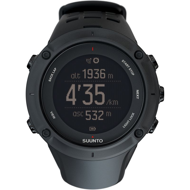 Mens Suunto Ambit 3 Peak HR Bluetooth GPS Chronograph Watch