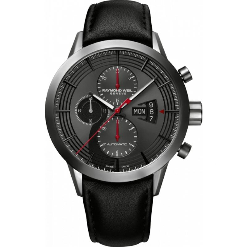 Mens Raymond Weil Freelancer 2 Cellos Special Edition Automatic Chronograph Watch 7745-TIC-2CELL