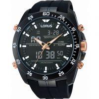 homme Lorus Alarm Chronograph Watch RW615AX9