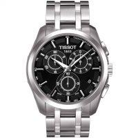 Herren Tissot Couturier Chronograph Watch T0356171105100