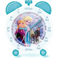 Character Frozen Time Teacher Clock Klokhorloge Wit FROZ1