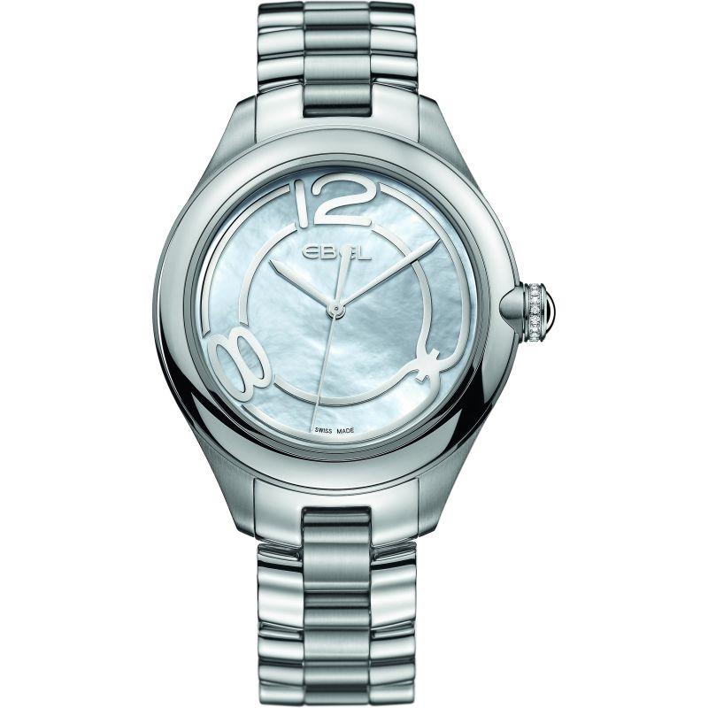Ladies Ebel Onde 36 Diamond Watch