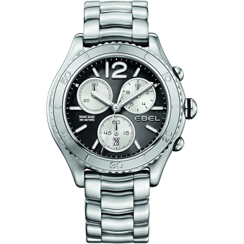 Mens Ebel X-1 Chronograph Watch 1216120