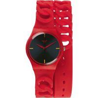 Damen Swatch Original Herren - Cranberry Verbindung Uhr