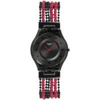 Damen Swatch schmal - Bubble Curtain Uhr