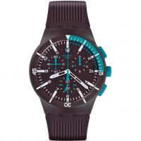 Orologio Cronógrafo da Uomo Swatch Chronoplastic - Purple Power SUSV400