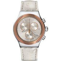 Unisex Swatch eisern Chrono - Albinostrich Chronograf Uhr