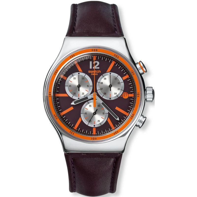 Mens Swatch Irony Chrono - Prisoner Chronograph Watch