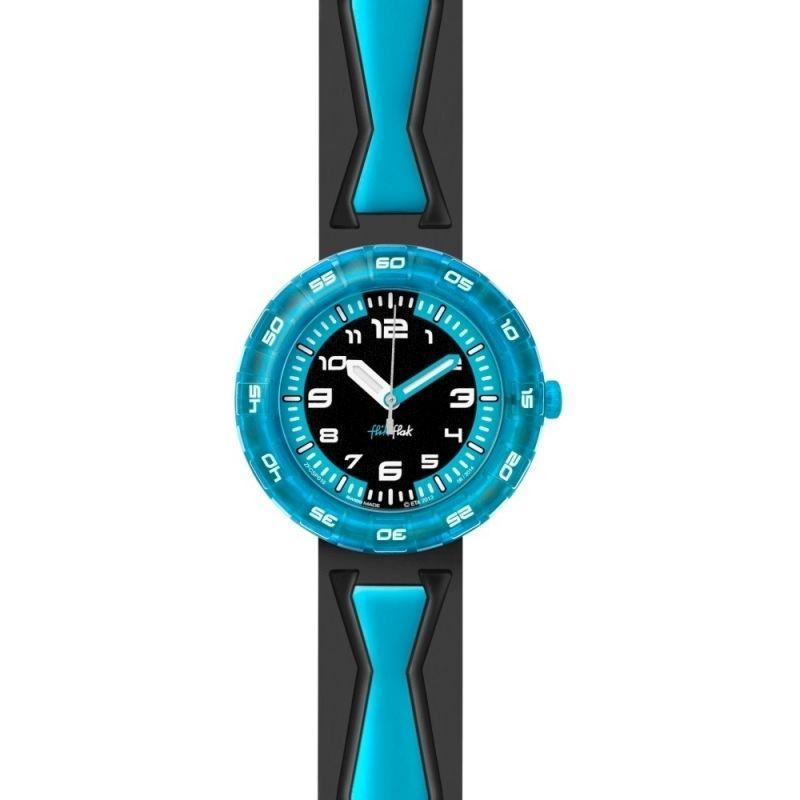 Kinder Flik Flak Pre School Boys - Get It In Blue Watch FCSP016