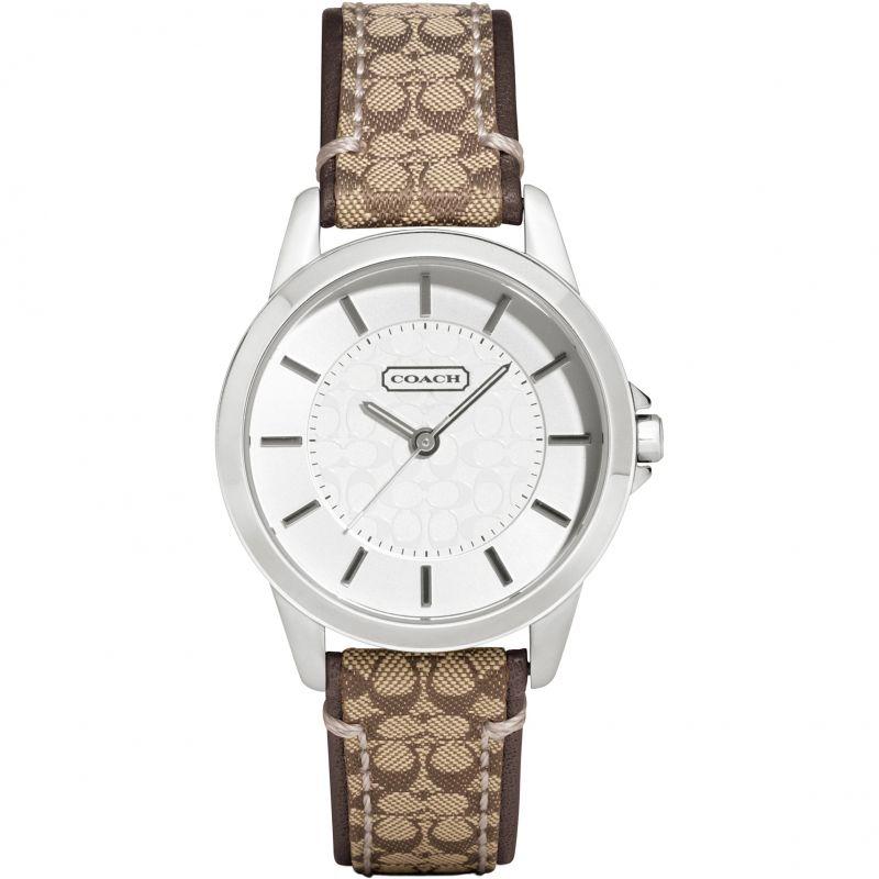 Ladies Coach Classic Signature Watch