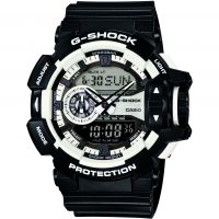 Herren Casio G-Shock Alarm Chronograph Watch GA-400-1AER