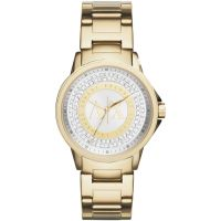Armani Exchange Dameshorloge Goud AX4321