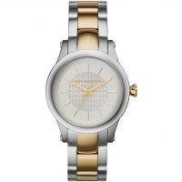 Damen Karl Lagerfeld Slim Kette Uhr