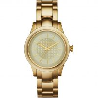 Damen Karl Lagerfeld Slim Chain Watch KL1220