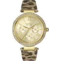 Damen Caravelle New York Glitz Watch 44N103