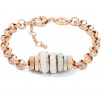 Ladies Fossil PVD rose plating Classics Bracelet JF01121998