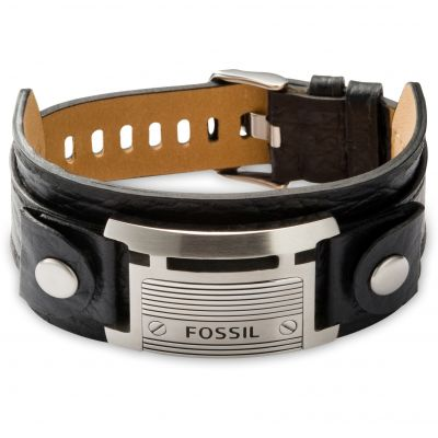 Mens Fossil Stainless Steel Casual Bracelet