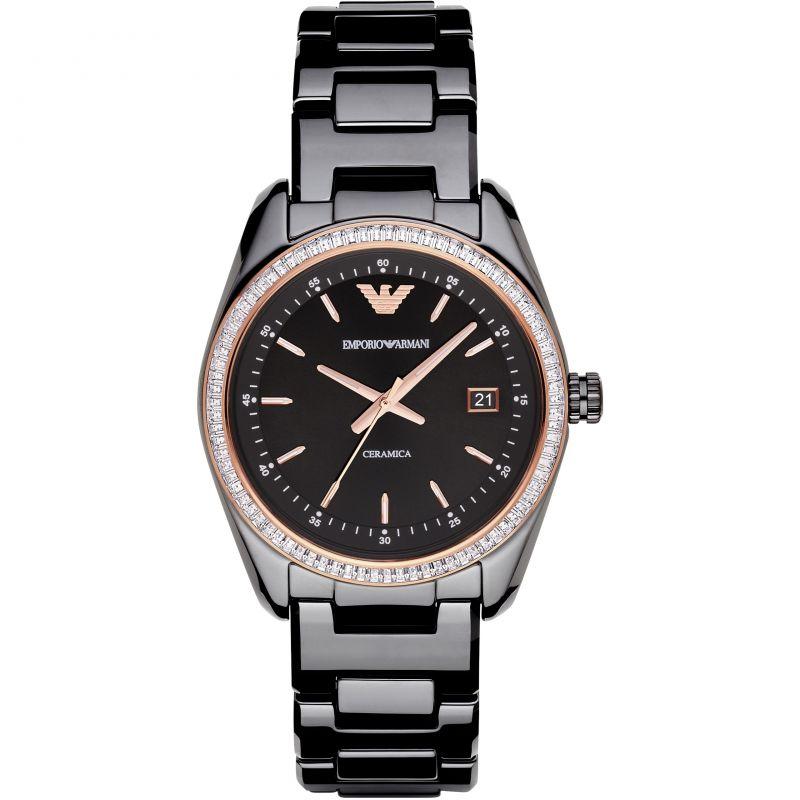 Ladies Emporio Armani Ceramic Watch