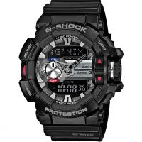 Casio G-Shock G'MIX Bluetooth Hybrid Smartwatch Herenchronograaf Zwart GBA-400-1AER