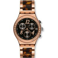 femme Swatch Dreamnight Rose Chronograph Watch YCG404GC