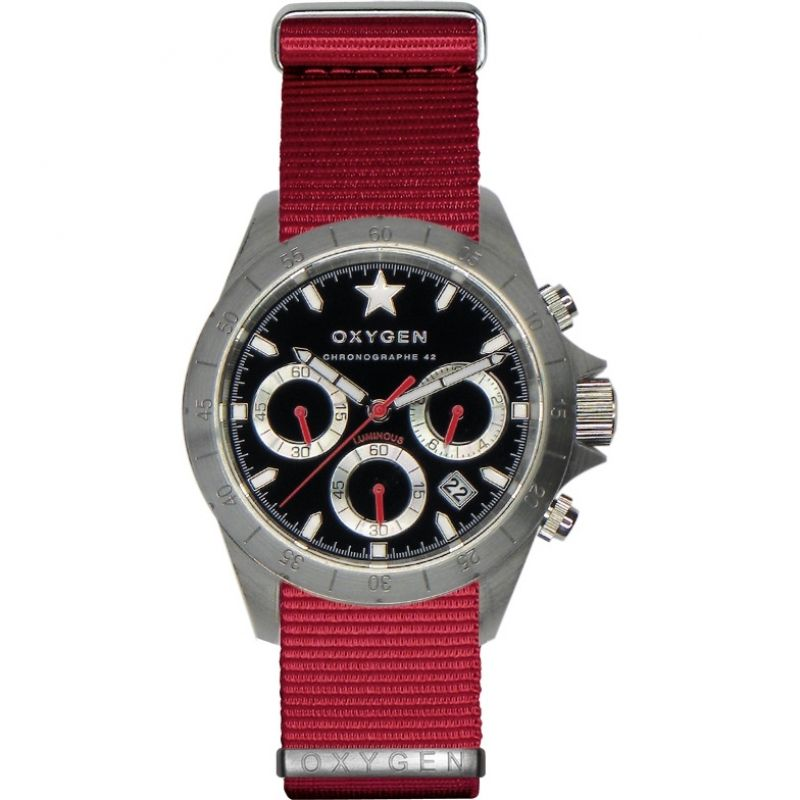 Mens Oxygen Chrono Chronograph Watch