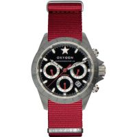 Oxygen 0 Herenchronograaf Rood EX-C-SPR-42-NN-RE