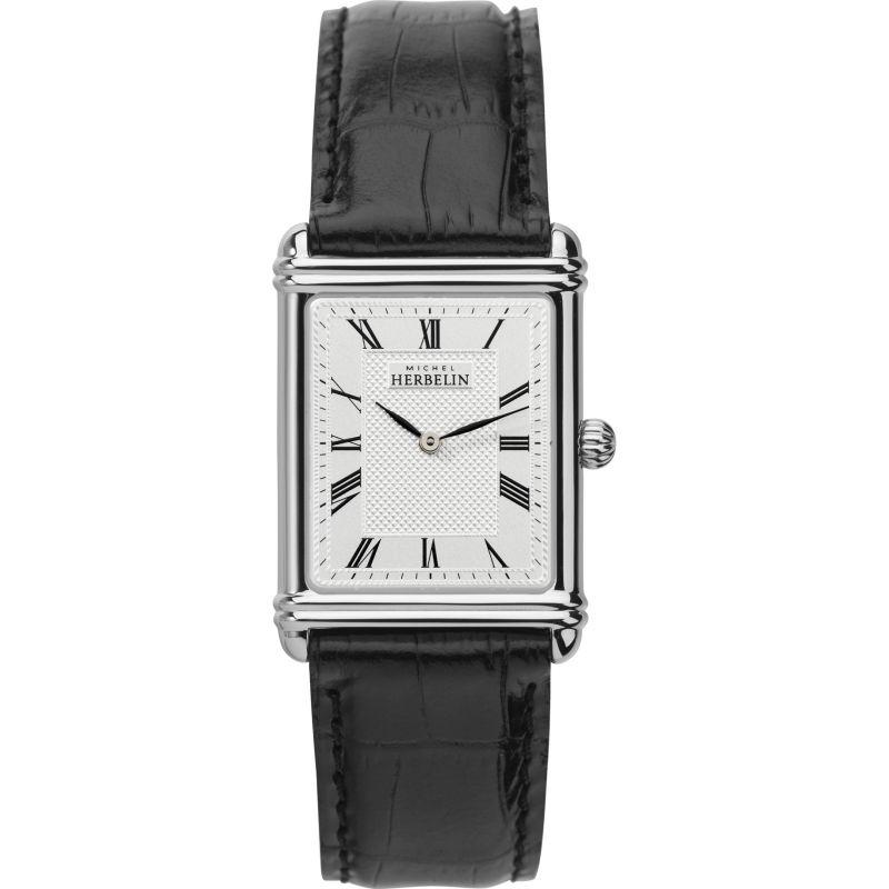 Mens Michel Herbelin 1925 Esprit Art Deco Watch