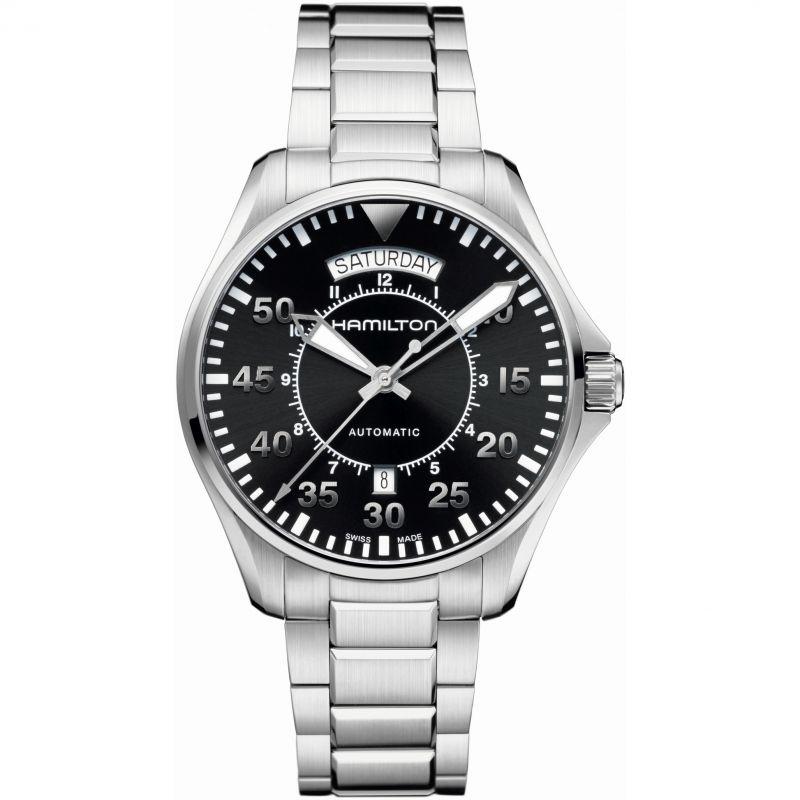 Herren Hamilton Khaki Pilot Day Date Watch H64615135