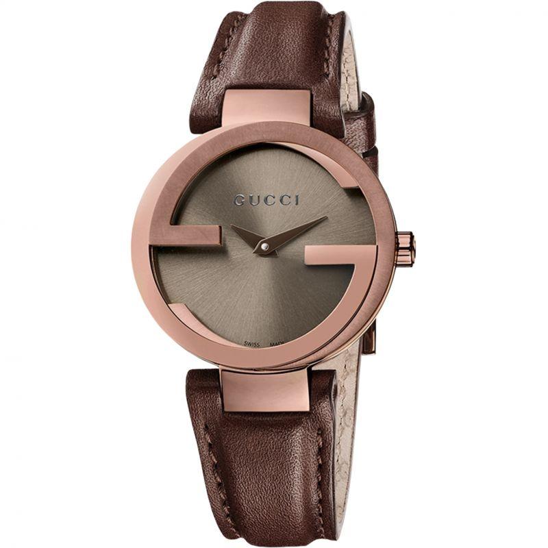Ladies Gucci Interlocking Watch