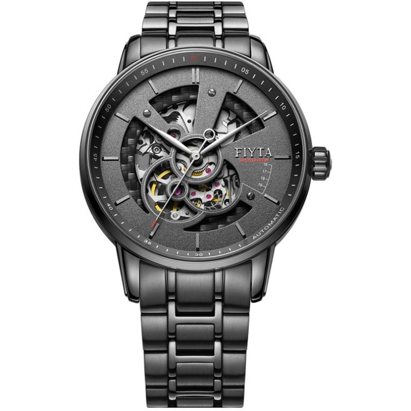 Mens Fiyta Photographer Skeleton Automatic Watch