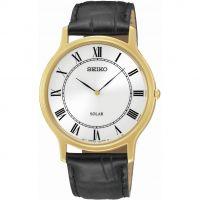 Herren Seiko Solar Powered Watch SUP878P1