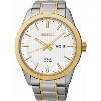 Herren Seiko Kleid solar betrieben Uhr