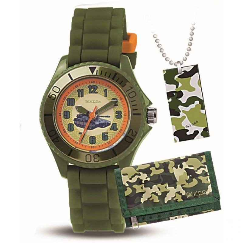 Childrens Tikkers Gift Set Watch ATK1003
