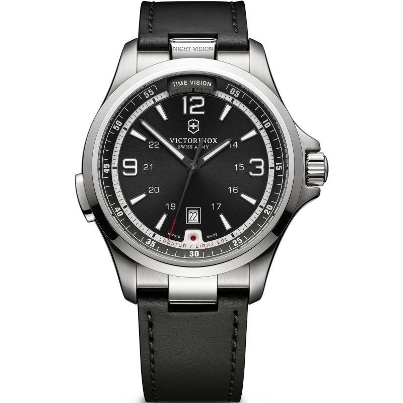 Mens Victorinox Swiss Army Night Vision Mechanical Watch