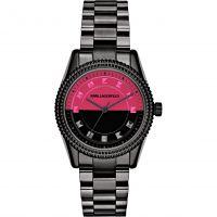 Damen Karl Lagerfeld Petite Stud Uhr