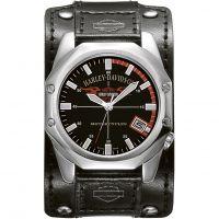 Herren Harley Davidson Manschette Uhr