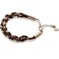 Ladies Zinzi Sterling Silver Bracelet ZIA1035RB
