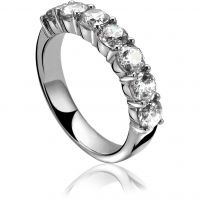 Ladies Zinzi Sterling Silver Ring Size N ZIR1000/54