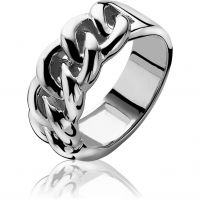 Ladies Zinzi Sterling Silver Ring Size O.5
