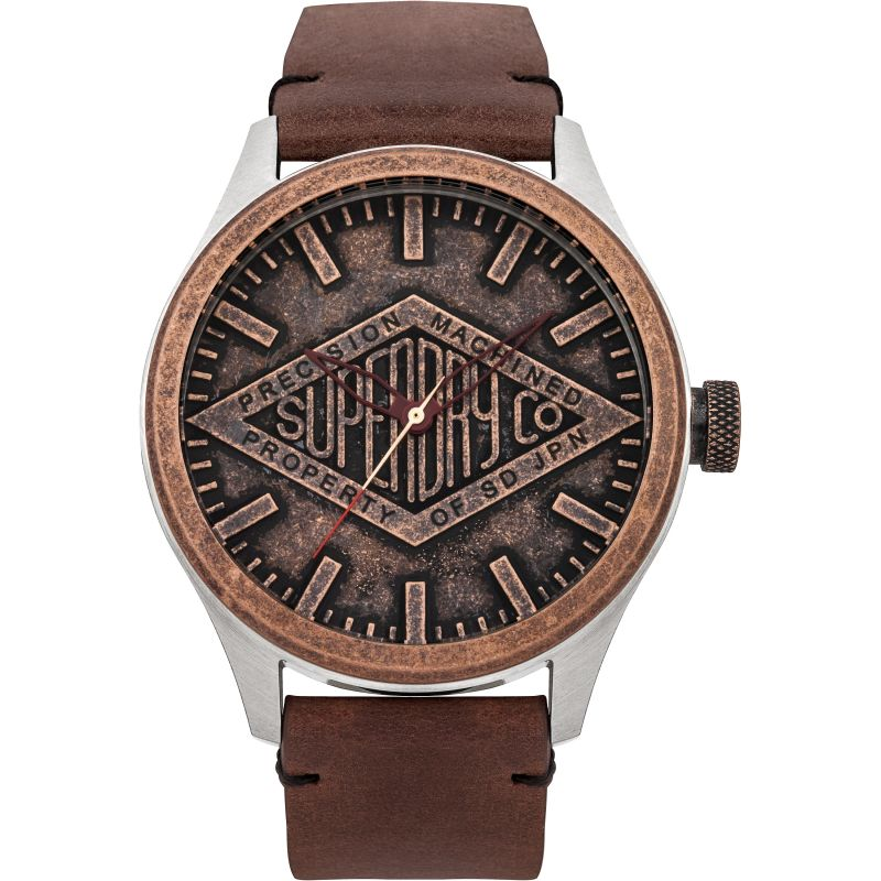 Mens Superdry Copper Label Watch SYG177T