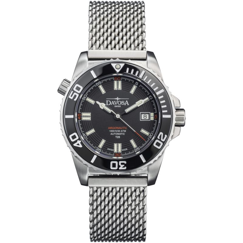 Mens Davosa Argonautic Lumis Diver Automatic Watch