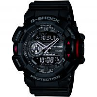 Herren Casio G-Shock Alarm Chronograph Watch GA-400-1BER