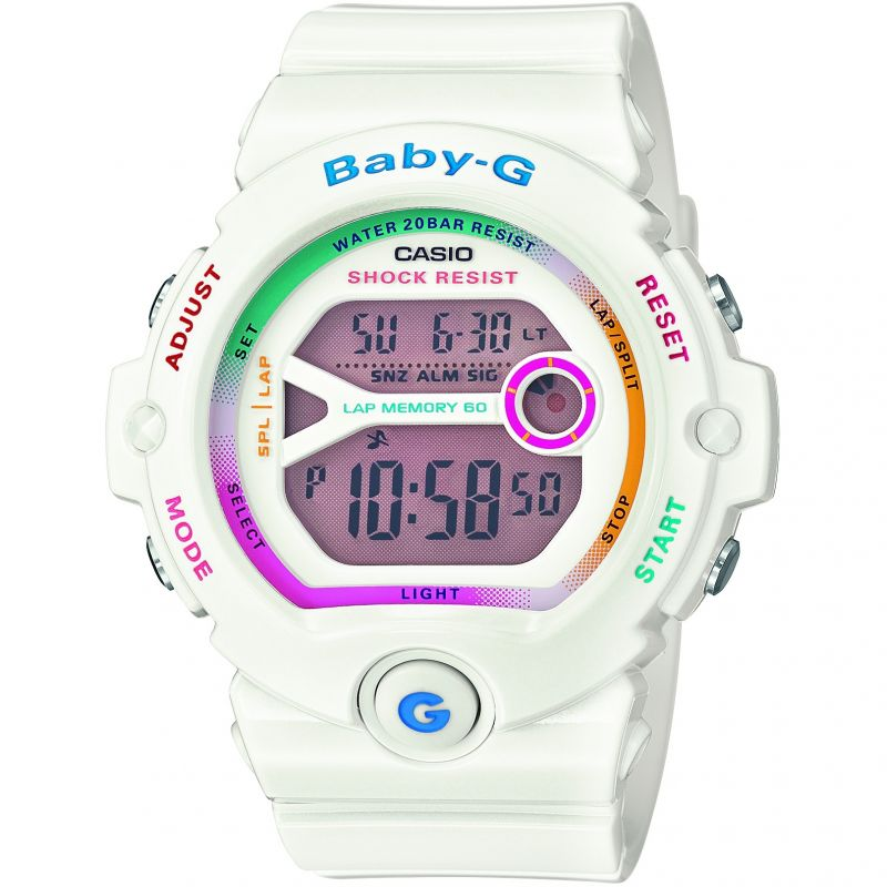 Ladies Casio Baby-G Alarm Chronograph Watch BG-6903-7CER