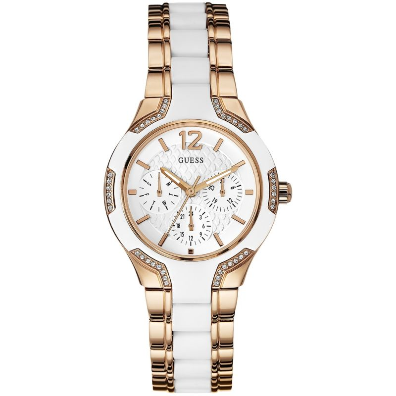 Ladies Guess Center Stage Watch
