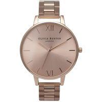 femme Olivia Burton Big Dial Bracelet Watch OB13BL07BS